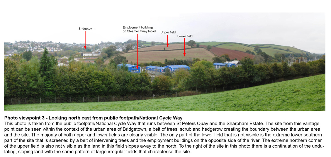 landscape and visual impact assessment Devon